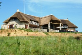 The exterior view of Inkungu Lodge