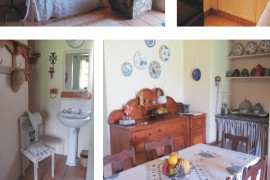 Guinea Fowl Cottage accommodation interior at The Ponds