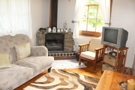 Lounge area in Barn Owl Cottage
