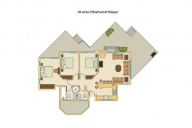 The apartment plan