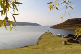 The view of the Sterkfontein Dam