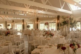 Wedding venue - reception area at Bellwood Cottages