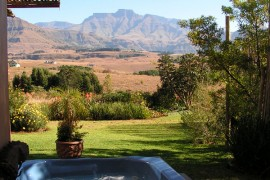 The view of the Drakensberg